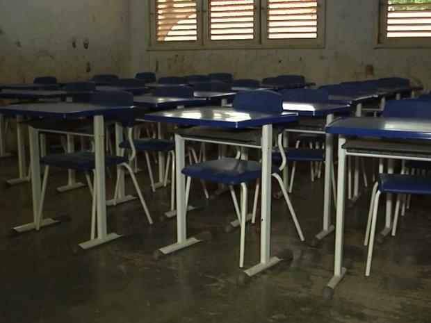 Açailândia possui atualmente 76 escolas na rede municipal (Foto: Reprodução/TV Mirante)