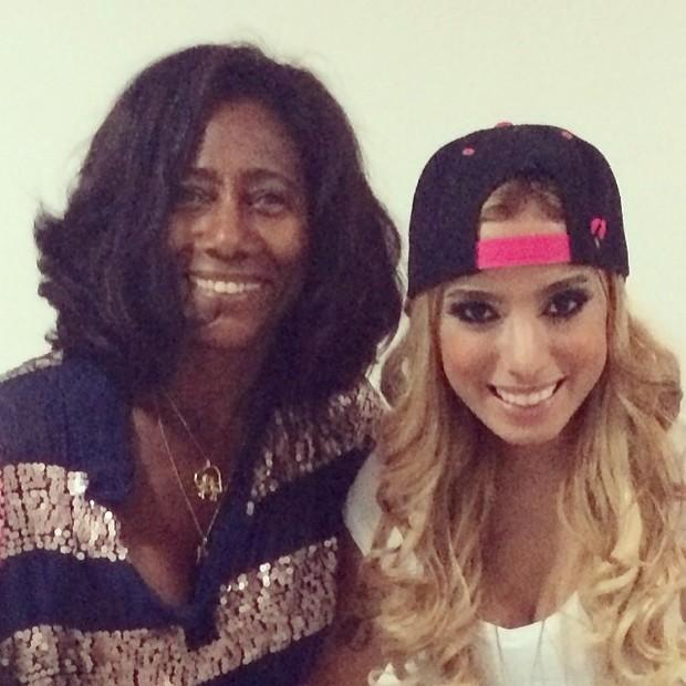 Glória Maria e Anitta (Foto: Instagram / Reprodução)