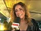 Daniela Mercury agita paulistanos em comemoração do aniversário de SP