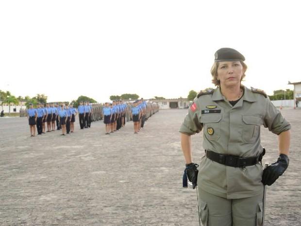 Mulheres ganham espaço na Polícia Militar e já passam de 700 na Paraíba (Foto: Cel Íris Oliveira/Polícia Militar)
