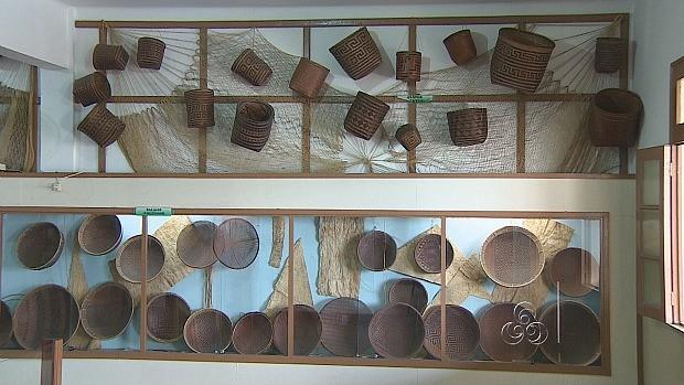 Museu reúne peças de várias etnias amazônicas (Foto: Amazônia TV)