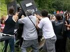Tropa de choque age em protesto contra demolição de casa na BR-040