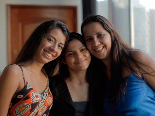 Miriam viajou do Ceará ao Rio de Janeiro para conhecer doadoras que ajudaram a transformar sua vida (Foto: Divulgação)