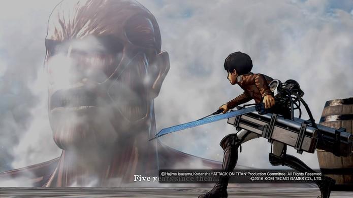Attack on Titan (Foto: Reprodução/Felipe Vinha)