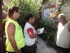 Mutirão vistoria mais de 1400 imóveis na Areia Branca, em Santos