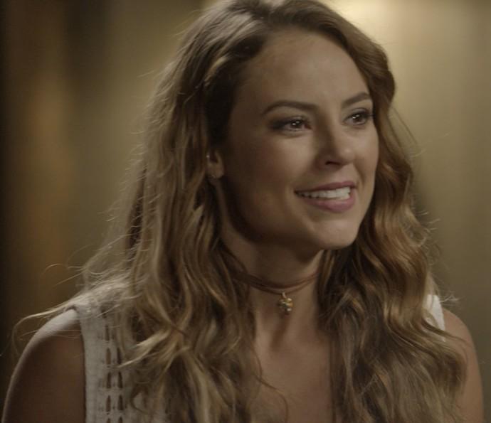Melissa diz que Felipe não é pai de Alex (Foto: TV Globo)