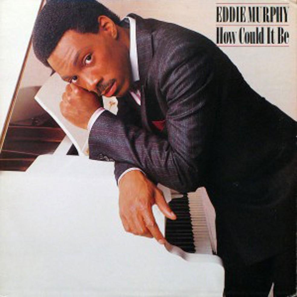 Capa de 'How could it be' (1985), disco de estreia do ator Eddie Murphy como cantor (Foto: Divulgação)