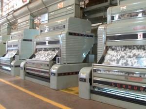 Beneficiamento de algodão em Mato Grosso (Foto: Reprodução/TVCA)