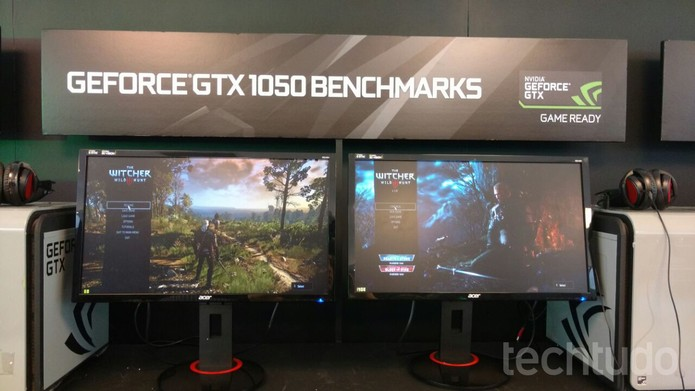 Placas de vídeo GeForce GTX 1050 (Foto: Viviane Werneck / TechTudo)