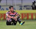 Fora da partida contra o Paraná, atacante Betinho deve deixar o Santa