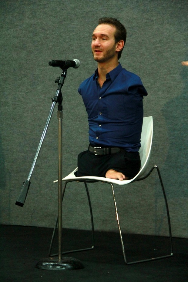 Nick Vujicic (Foto: Graça Paes / Zapp News)
