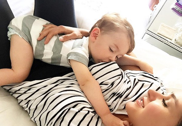 Fernanda Machado posta foto amamentando filho (Foto: Reprodução / Instagram)