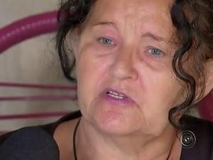 Maria Leite da Silva precisa de remédios para depressão (Foto: Reprodução/TV TEM)