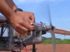 Universitários de MT criam protótipo de avião 'leve': 'Deu dor de cabeça'