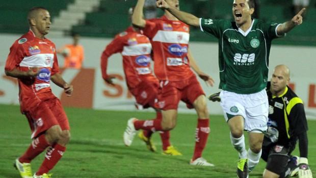 Danilo Sacramento gol Guarani (Foto: Denny Cesare / Futura Press)