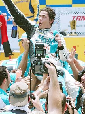 Marcos Gomes surgiu como revelação em 2007 (Foto: Miguel Costa Jr.)