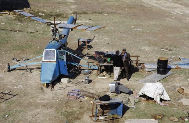 Ele quer usar o equipamento na proteção das fronteiras iraquianas.  (Foto: Khalid Mohammed/AP)