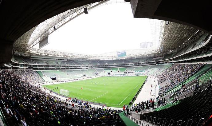 Arena Palmeiras - Evento Teste (Foto: Marcos Ribolli)