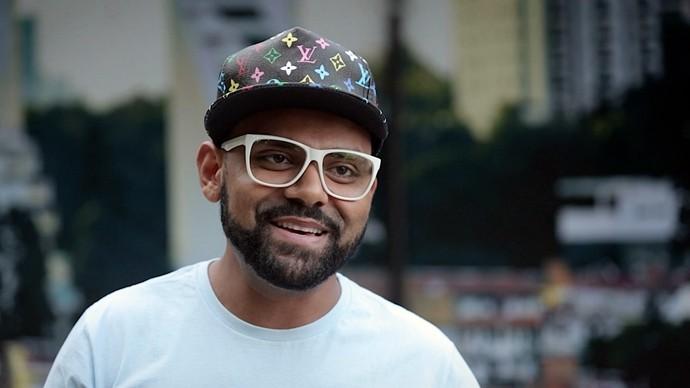 Pablo grava participação na novela 'I Love Paraisópolis'. (Foto: Divulgação / Globo)