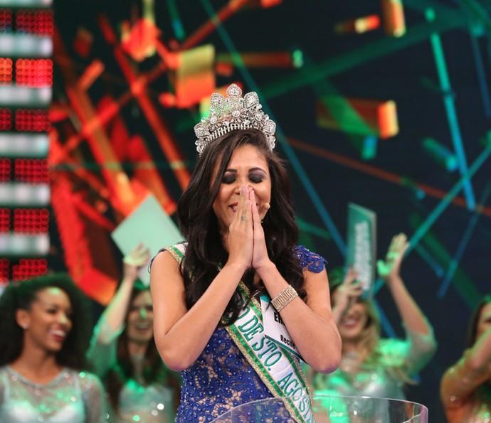 Ericka de Oliveira Melo vence o TGA (Foto: Carol Caminha/Gshow)