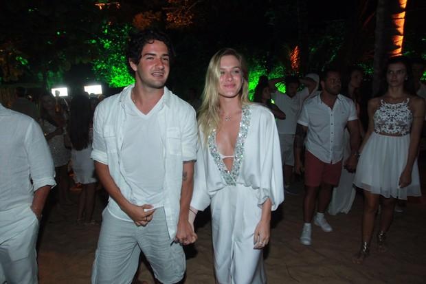 Fiorella Mattheis e Alexandre Pato (Foto: Marcello Sá Barretto/ AgNews)