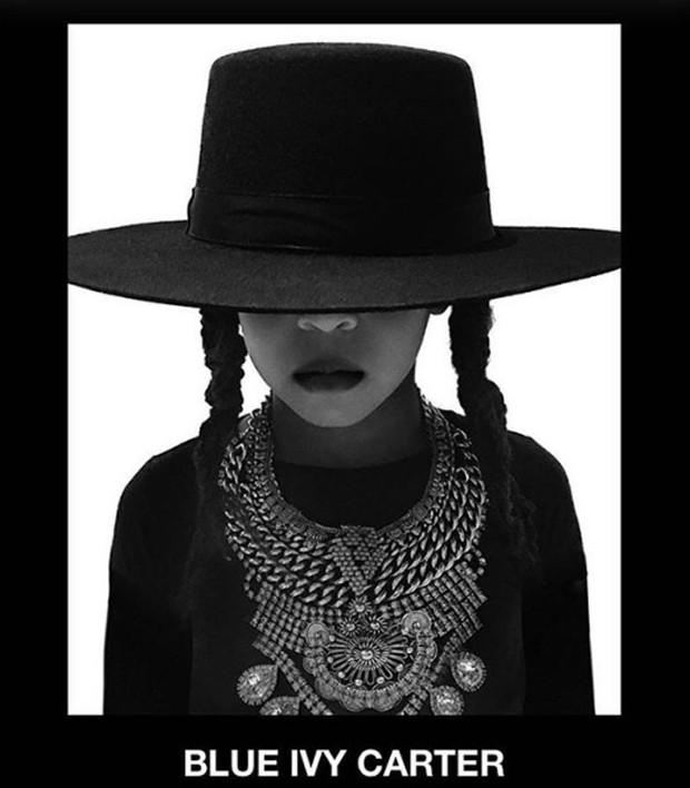 Blue Ivy Carter homenageia Beyoncé (Foto: Reprodução / Instagram)