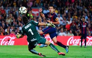 Xavi Hernandez Barcelona x SD Eibar (Foto: Getty Images)