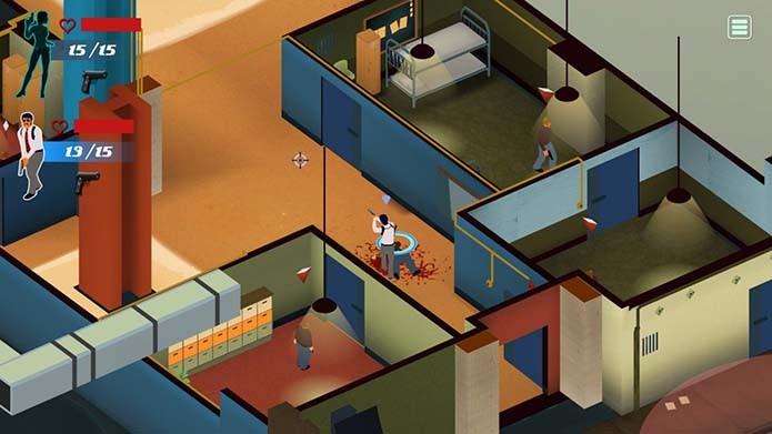 Na onda de Hotline Miami, game faz feio no Xbox One (Foto: Reprodução)