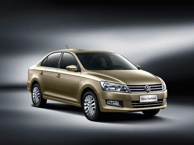 Nova geração do VW Santana será produzida na China (Foto: Divulgação)