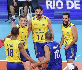 Vôlei Brasil x Irã Liga Mundial (Foto: Divulgação/FIVB)