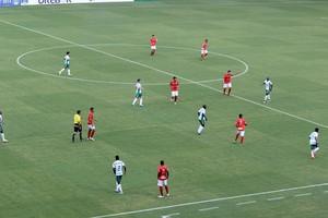 Cuiabá e União na Arena Pantanal (Foto: Olimpio Vasconcelos)