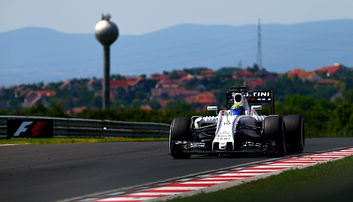 Felipe Massa no GP da Hungria