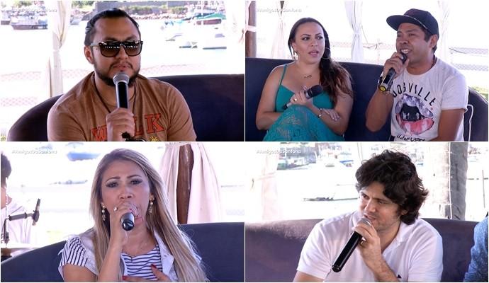 Convidados do segundo Amigos da Sanfona da temporada. (Foto: Reprodução)