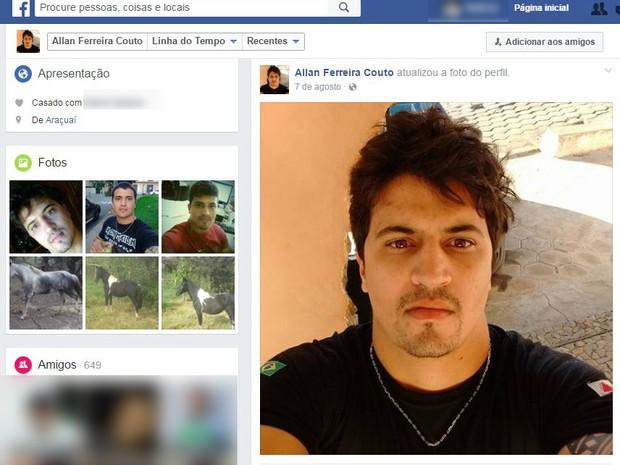 Allan Ferreira Couto tinha 30 anos (Foto: Reprodução/Redes sociais)