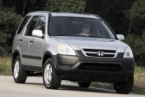 Honda CR-V 2003 (Foto: Divulgação)