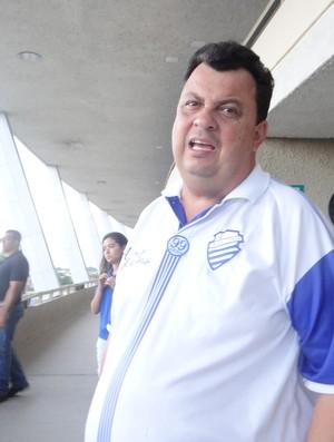 Presidente do CSA , Jorge VI (Foto: Paulo Victor Malta / Globoesporte.com)