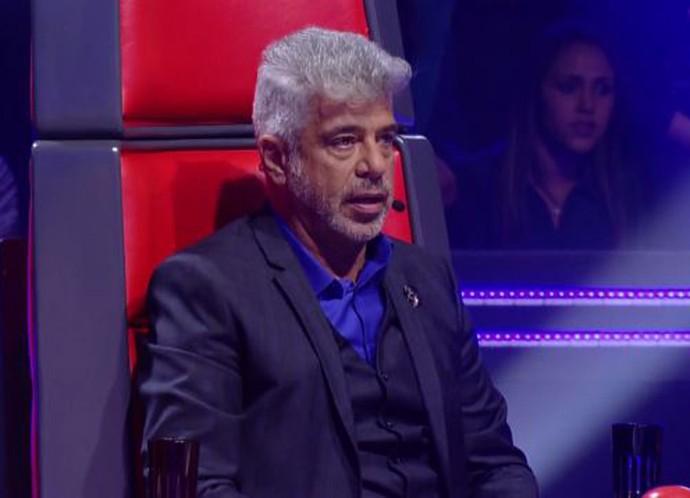Lulu Santos não conteve o choro durante a apresentação de Gustavo Trebien e a dupla André e Kadu (Foto: TV Globo)