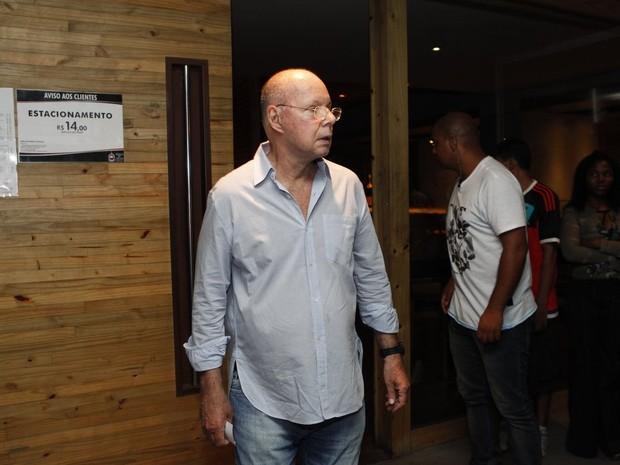Gilberto Braga em festa no Rio (Foto: Marcos Serra Lima/ EGO)