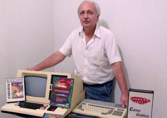 Um dos primeiros brasileiros a criar games, Renato Degiovani está desenvolvendo desde 1981 (Foto: Arquivo Pessoal)