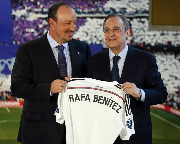 Rafa Benitez Real Madrid (Foto: Reuters)