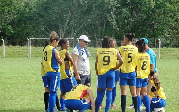 São José Futebol Feminino (Foto: Arthur Costa/ Globoesporte.com)