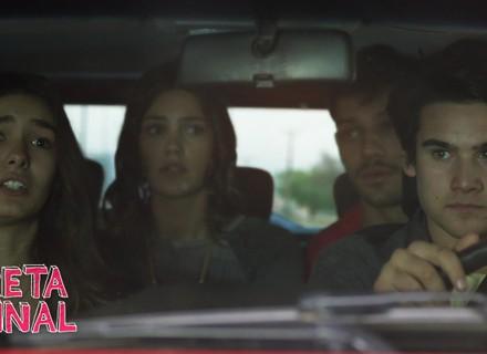 Alina e Uodson ajudam Ludrigo