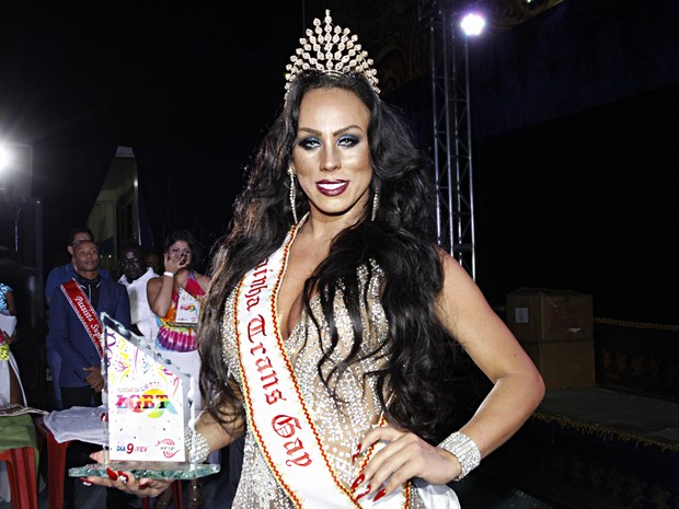 Camilly Rodrigues: Rainha transexual (Foto: Celso Tavares/ EGO)