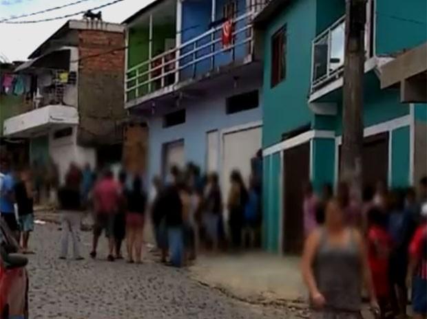 Jovens foram baleados no dia seguinte ao tiroteio na Zona Sul (Foto: Reprodução/RBSTV)