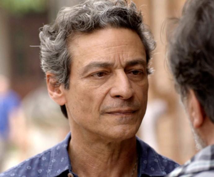 Bento discute com Massimo (Foto: TV Globo)