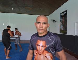 Oberdan Pezão, lutador MMA, AP (Foto: Cassio Albuquerque/GE-AP)