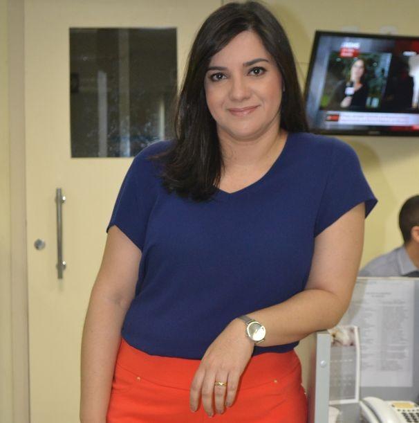 Lanne Pacheco apresenta o Bom Dia Sergipe desta quarta, 27 (Foto: Divulgação / TV Sergipe)