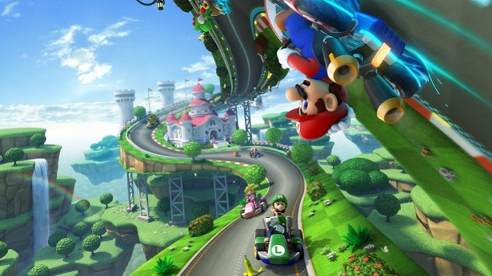Mario Kart 8 trará corridas com veículos anti-gravidade (Foto: Divulgação)