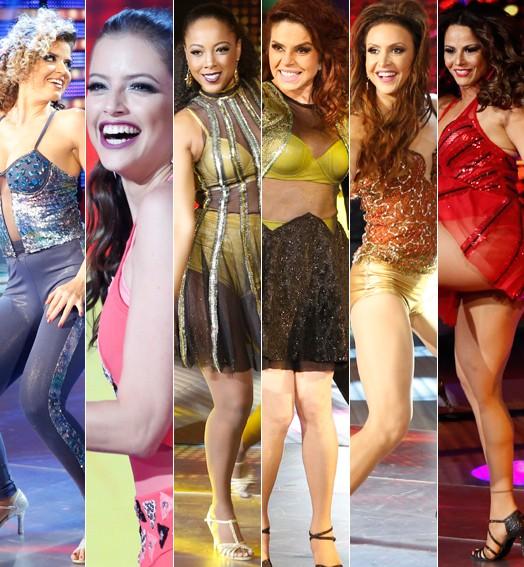 Dança dos Famosos: a estreia das mulheres (Foto: Ellen Soares / Gshow)