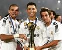 Jogadores do Real enchem redes sociais de fotos com a taça do Mundial de Clubes